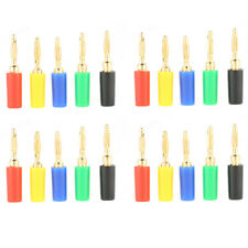 Hot Sale 20pc Multicolor 2mm Banana Plug Jack Test Probe Connector for Amplifier