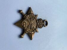 """More details for ww1 british 1914/15 star medal named """"934- gnr. t. harrold. r.f.a."""" no ribbon"""