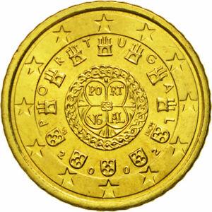 [#581277] Portugal, 50 Euro Cent, 2002, FDC, Laiton, KM:745