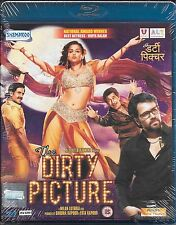 THE DIRTY PICTURE - NEW ORIGINAL BOLLYWOOD BLU RAY - FREE UK POST