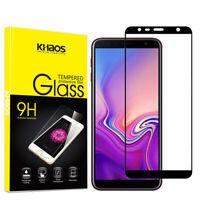 KS For Samsung J6 Prime 2018 Full Cover Tempered Glass Screen Protector -Black