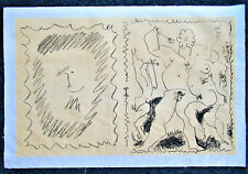 PICASSO - ORIGINAL LITHOGRAPH  - 1951 - FREE SHIPPING IN US !!!