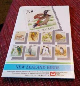 New Zealand Birds Presentation Folder 1998