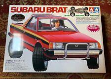 NIB Tamiya Subaru Brat 58384 silver metal plated frame ultra-rare first edition