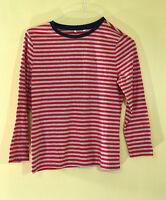 1901 Women Long Sleeves Ringer Tee AS386146MI /Red /Medium.
