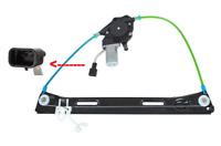 Mécanisme de lève-vitre électrique +Moteur Avant Droite FIAT PANDA 03-12 / VAN