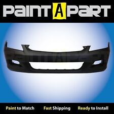 2006 2007 Honda Accord Sedan Front Bumper Cover (HO1000235) Painted