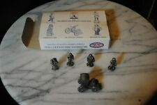 Liberty Falls American Pewter Collection Five Small Pewter Figurines