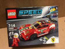 New Sealed LEGO Speed Champions Ferrari 458 Italia GT2 75908 Rare Discontinued