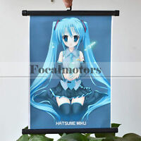 Anime Vocaloid Hatsune Miku Posters Room Hanging Picture Cosplay New 2017