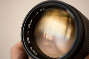 🔥 Canon FD SC 135mm F/2.5  🔥