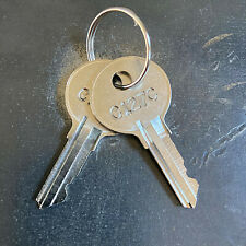 2 Matco Mac Tool Box Replacement Keys Cut Key Code C001c C250c Free Track