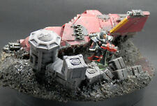 Warhammer 40k Terrain Scenery Wrecked Buried Land Speeder Tempest Forgeworld