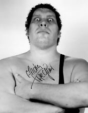 ANDRE THE GIANT SIGNED PHOTO 8X10 RP AUTOGRAPHED WWE WWF WRESTLING