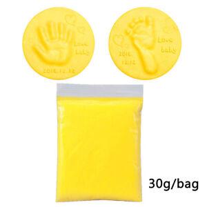 Soft Clay DIY Baby Hand Foot Inkpad Handprint Footprint Fingerprint Kids Toys F