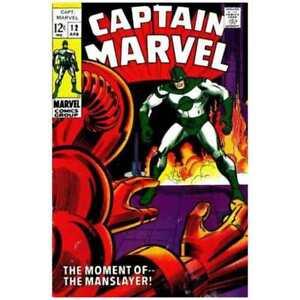 Captain Marvel (1968 series) #12 in Fine minus condition. Marvel comics [*21]