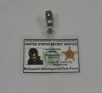 Resident Evil ID Badge-Biohazard Investigation Task Force Leon S Kennedy