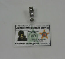 Resident Evil ID Badge-Biohazard Investigation Task Force Leon S Kennedy