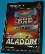 Jissen Pachi-Slot Hisshouhou! Aladdin - Sony Playstation 2 PS2 Japan - JAP