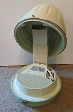 Hamilton Beach Scovill Hard Bonnet Hair Dryer Turquoise ~ Tested