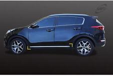 New Chrome Side Under Line Cover Molding Trim 4 pcs D043 for Kia Sportage 2016
