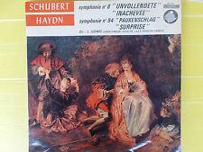LP SCHUBERT SYMPHONIE N° 8 UNVOLLENDETE- HAYDN SYMPHONIE N°94 L.LUDWING NUOVO