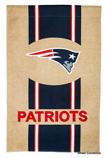 "Garden Flag New England Patriots Licensed NFL Football League 12.5"" X 18"" Team"