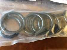 IKEA Syrlig Curtain Rings with Clips and Hooks 10 Pack Black NIB