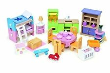 Le Toy Van Starter Furniture Set Dolls House Accessories ME040