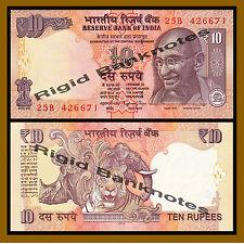India 10 Rupees, 2013 P-102 New Rupee Symbol Unc