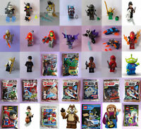 24 LEGO Figuren für Weihnachtskalender, Ninjago, Disney, Potter, Batman, POLYBAG