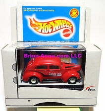 Hot Wheels Fat Fendered 40 Ford Red w/white hubs, Lexmark printer promo