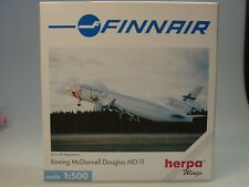 "Herpa Wings McDonnell Douglas MD-11 Finnair ""Santa Claus"" - 503471 - 1:500"