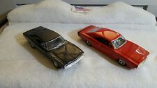 Two 1969 Chargers Loose Diecast 1:24 Scale Racing Champions Other