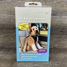New listing Travel Hound Car Dog Harness, Medium 20-55 lbs Fleece Lined Vest