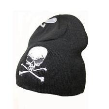 Biker Chopper Skull Bones Totenkopf Beanie Wintermütze Ski Mütze NEU