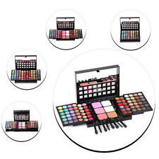 High Quality 78 Full Color Pro Makeup Set EyeShadow Lip Gloss Palette Blusher