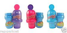 Little Kids Fubbles No-Spill Bubble Tumbler Mini 2 Fl oz Tips Upside Down 1 Pack