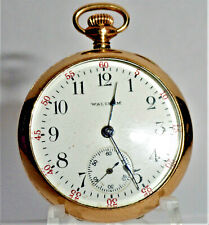 1910 LADY WALTHAM 0s 17 JEWEL POCKET WATCH VERY GOOD WORKING CONDITION