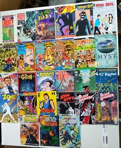 HUGE Dark Horse 54 issue Comic LOT   Hernandez, Star Wars, Barb Wire, Aliens
