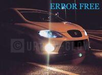 SEAT LEON Mk1 Mk2 XENON ICE WHITE LED Side Light Bulbs CANBUS ERROR FREE