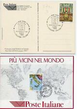 SP 31 annullo speciale presenza italiana nel mondo 1997