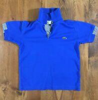 Lacoste Children's Blue Cotton Polo Shirt Size 116
