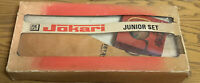 Vintage Junior Jokari Set Outdoor Ball And Bat Game Original Box -