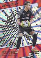 2017 Panini Revolution Soccer - Sunburst Parallel (Retail) - CSKA Moscow 86-91