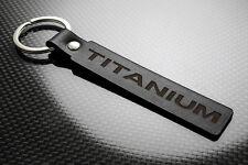 FORD Titanio Pelle Portachiavi keychain Schlüsselring porte-clés B C S MAX KUGA