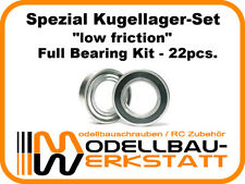SPEZIAL Kugellager-Set für JQ Products The E Car Yellow Grey Edition RTR