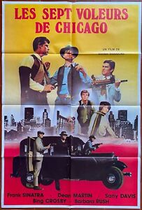 Poster The 7 Thieves Chicago Robin And Hoods Frank Sinatra 31 1/2x47 3/16in