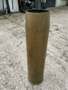"Brass 4.5"" Front Gun Shell Casing Fired from HMS Bristol 1982 - 8.2kg's! Large!"