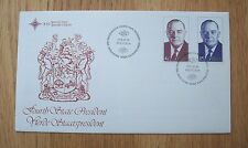 South Africa 1978 President Vorster F D C First Day Cover